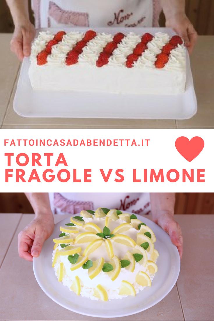 Torta Furba Alle Fragole O Torta Al Limone Ricette Idee Alimentari Dolci