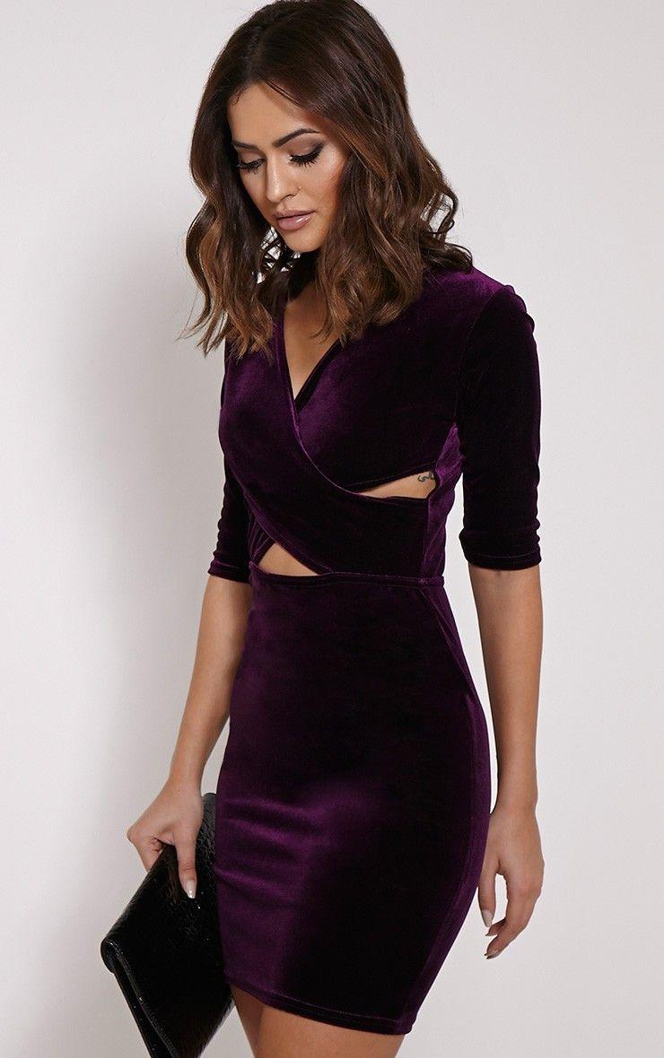$9.85 Red velvet dress. | Dresses | Pinterest | Red velvet, Purple ...
