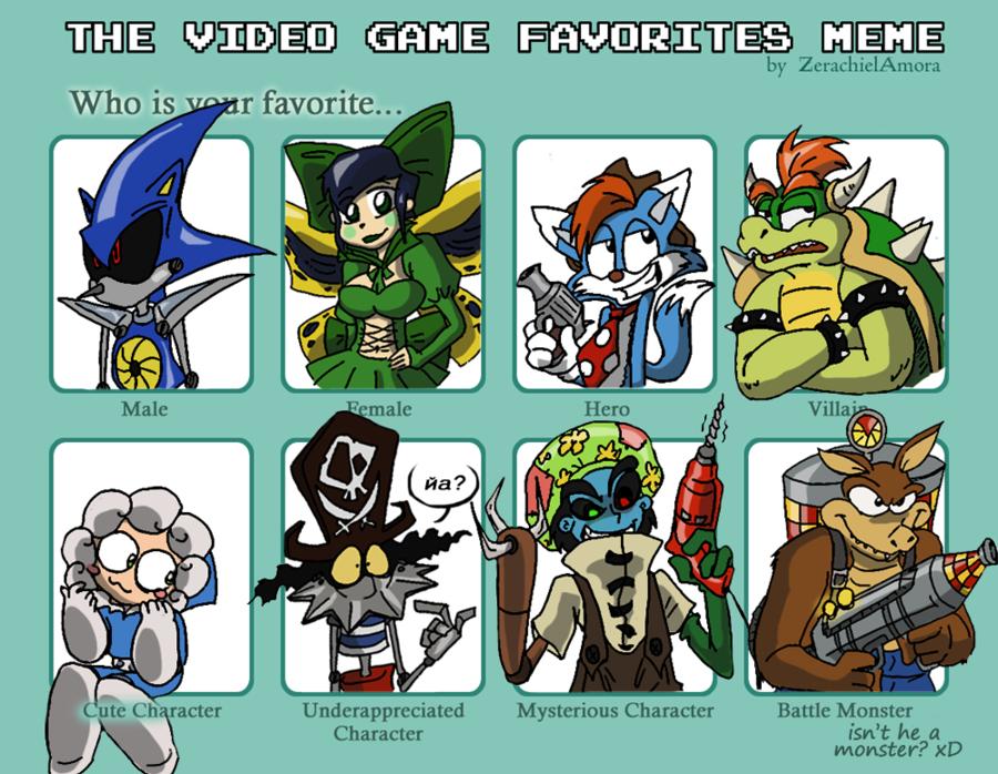 Video Game Favorites Meme Video Game Video Game Memes Memes