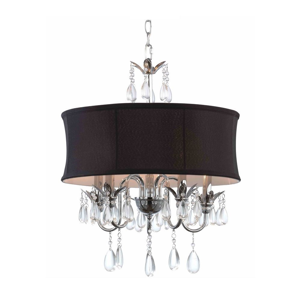 How To Choose The Perfect Chandelier For Your House Drum Shade Chandelier Black Crystal Chandelier Crystal Chandelier
