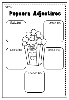 Adjectives Worksheet Printable Worksheet. Kindergarten