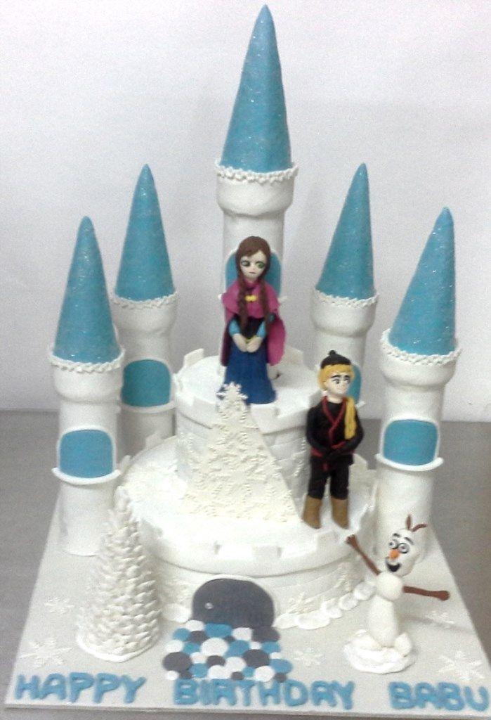 Icecastlecake Frozen Theme Cake Themed Cakes Wedding Cakes