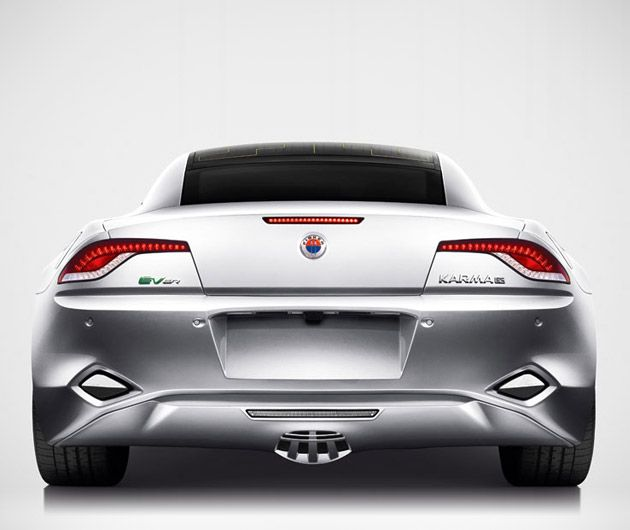 Love This Rear! Fisker Karma, Plug-In Hybrid Car
