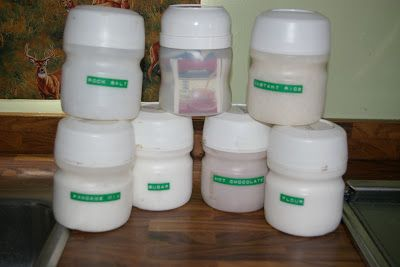 Girls In The Outdoors Some Rv Orginazation Tips Lemonade Container Reuse Containers Country Time Lemonade