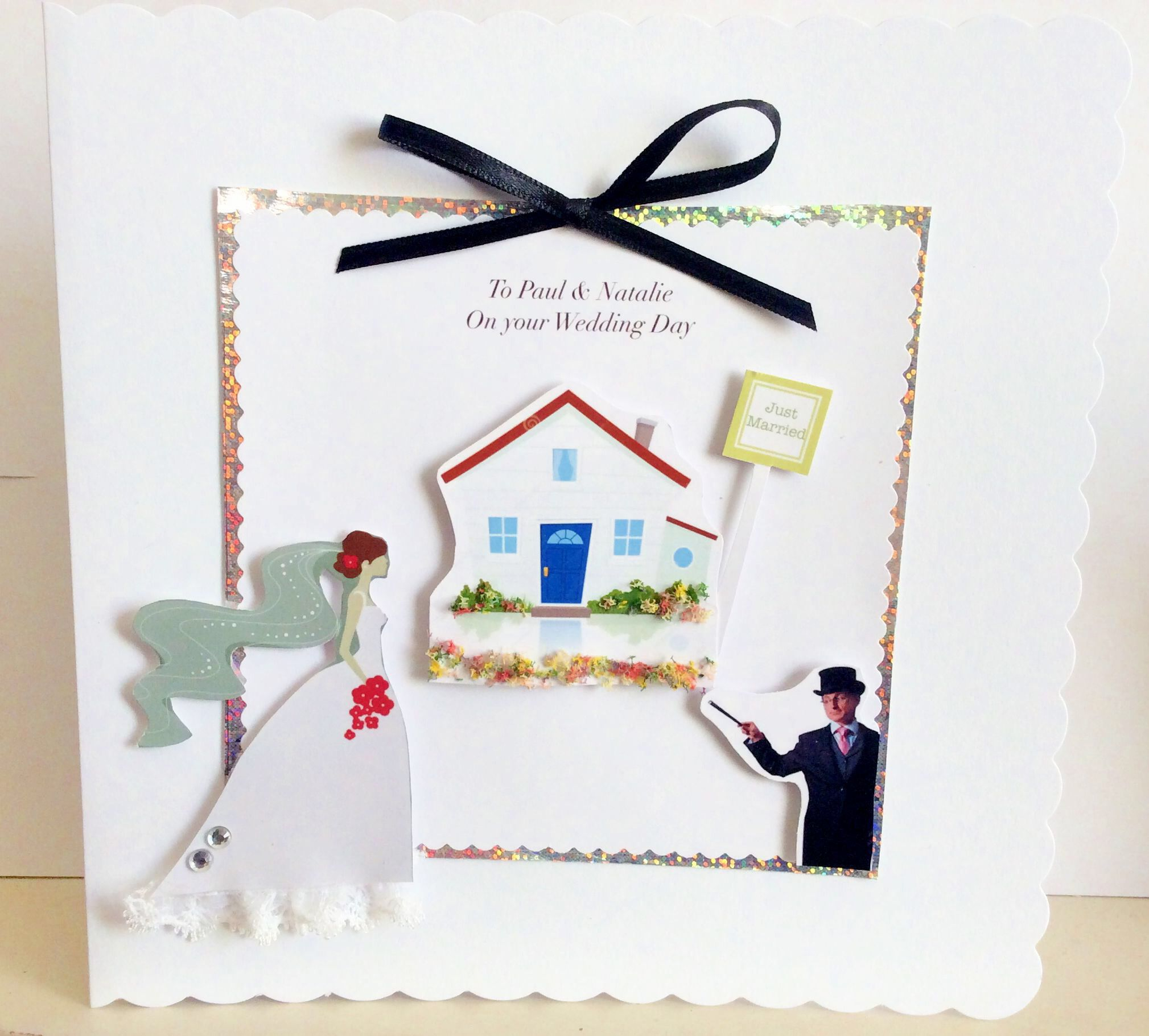 A wedding greeting for a magician and his wife who is an estate a wedding greeting for a magician and his wife who is an estate agent kristyandbryce Image collections