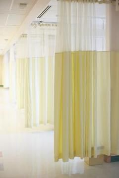 How To Attach A Curtain Room Divider To A Dropped Ceiling Room