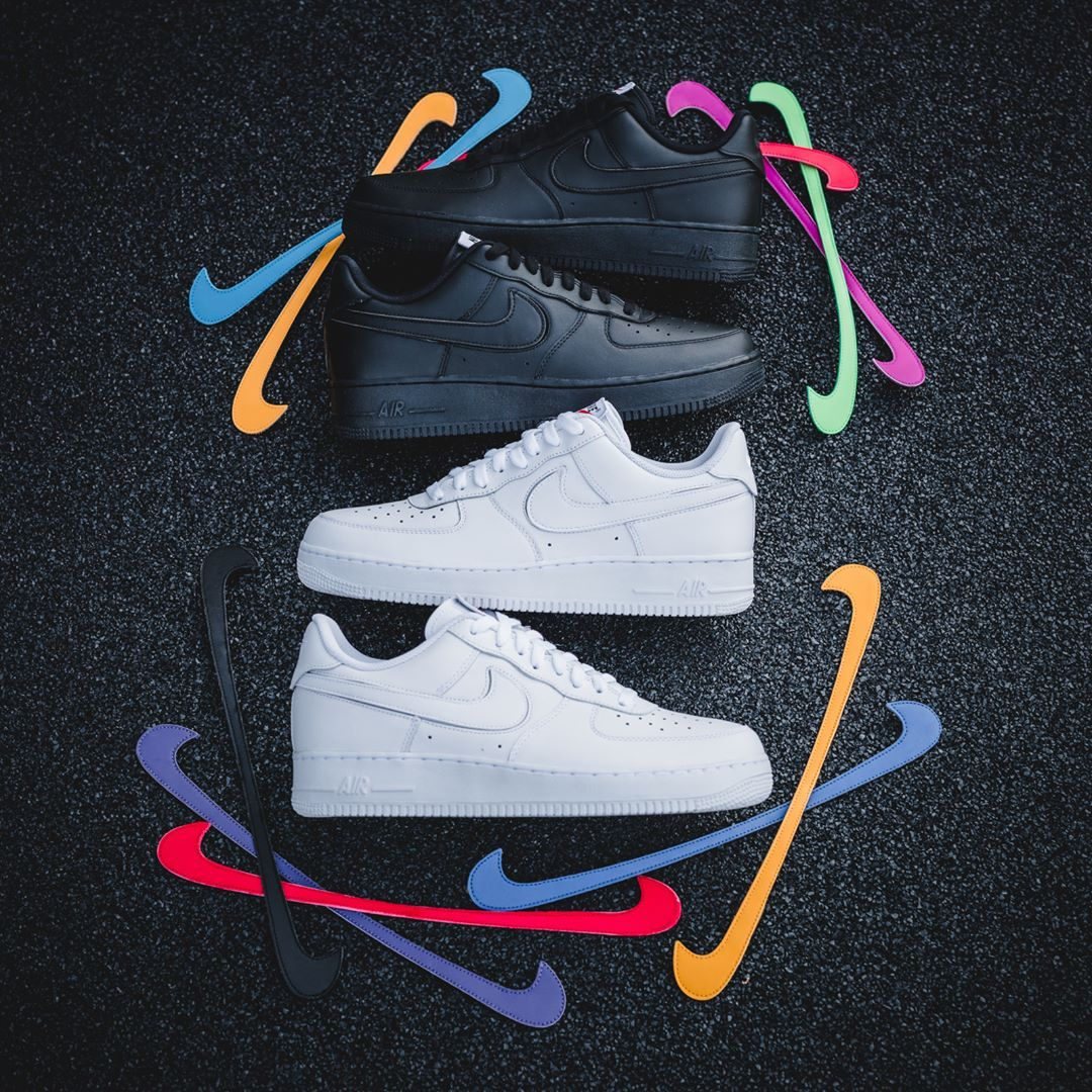 online store 27d32 e60e9 Release Date   February 23, 2018 Nike Air Force 1 « Swoosh Flavors » Credit    Solebox