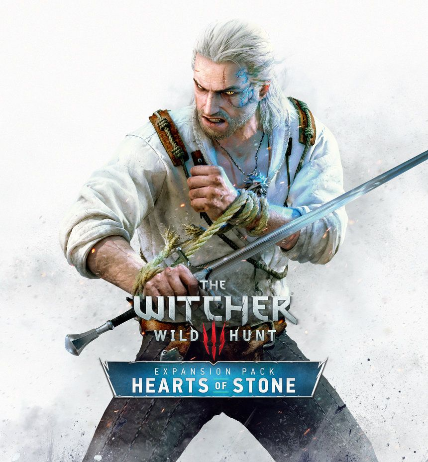 Hearts Of Stone Keyart The Witcher Hearts Of Stone The Witcher Wild Hunt