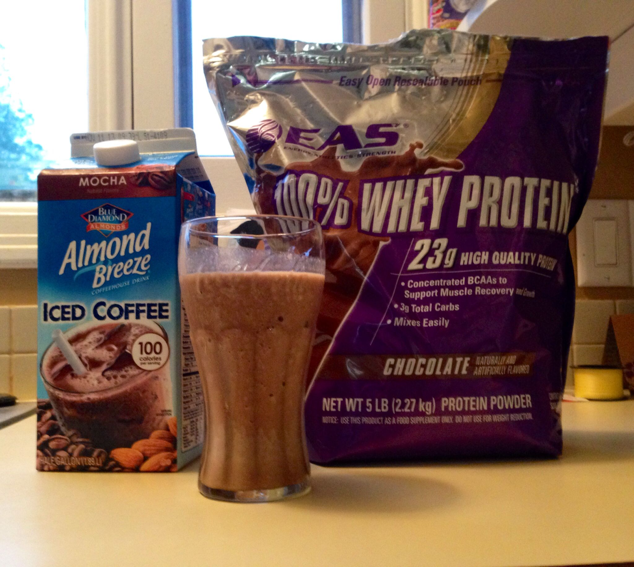 Healthy dupe for protein packed paleo tim hortons mocha