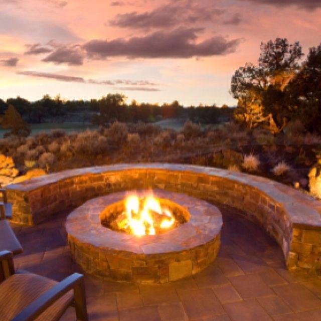 Fire Pit Pics: Best 25+ Outside Fire Pits Ideas On Pinterest