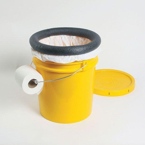 Make a Homemade Camping Toilet - DIY | Toilet, Homemade and Camping