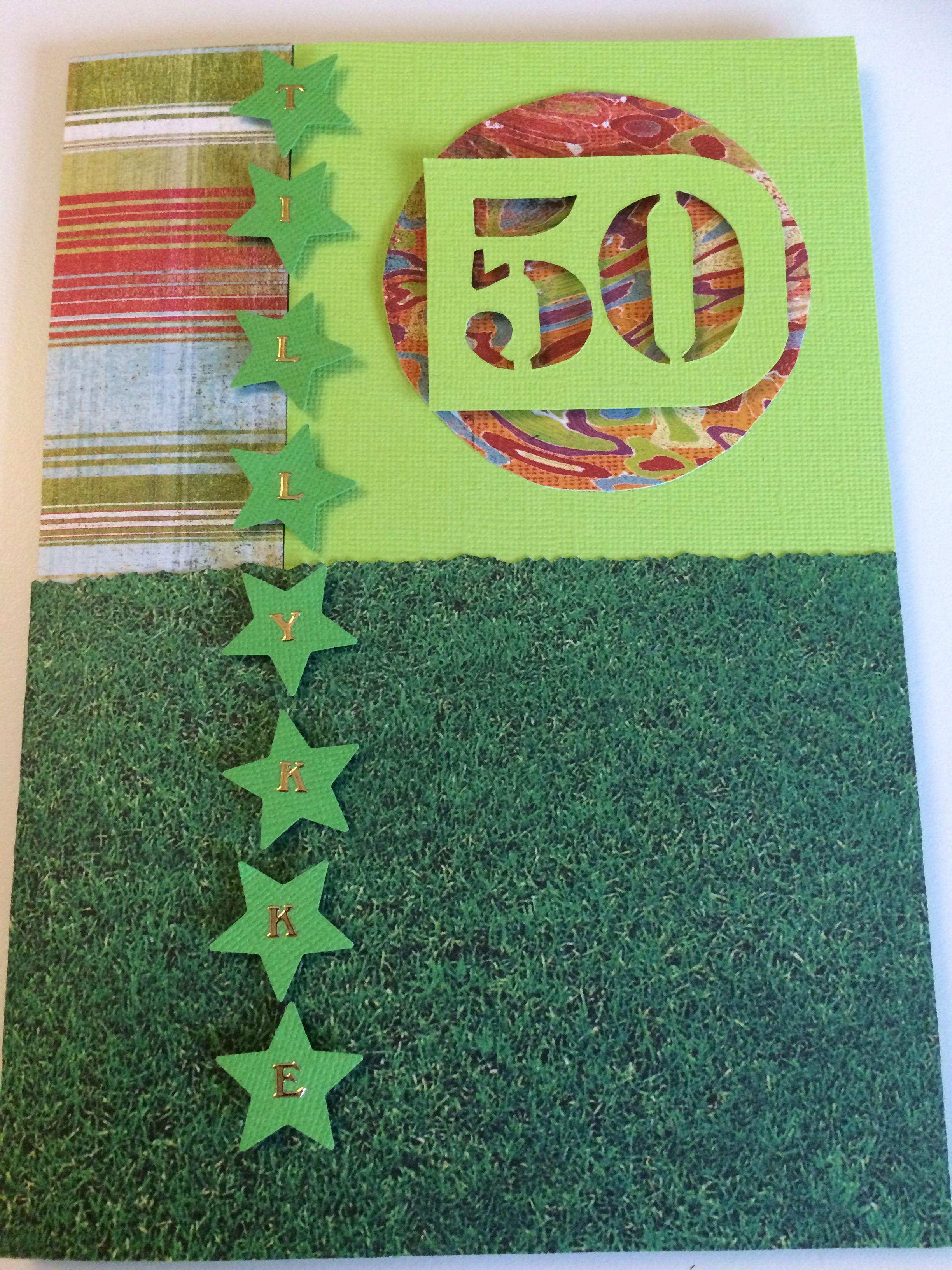 Kort til 50 års fødselsdag | 50 års fødselsdag, Fødselsdag