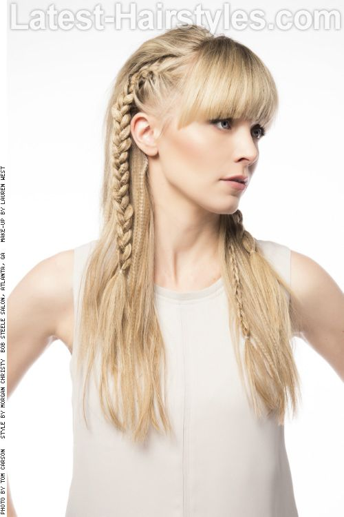 Long Hair With Bangs 37 Best Examples Of 2020 Braids For Long Hair Long Hair With Bangs Hair Styles