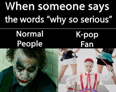 Why So Serious There S Also That Thing From Bts Rookie King Show Ahh V Kpop Funny Funny Kpop Memes Kpop Memes