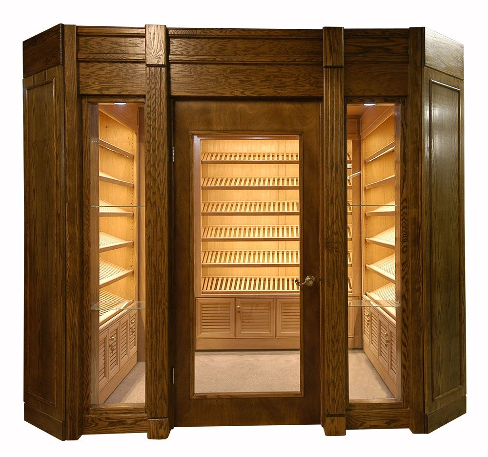 Portable Walk In Humidor Cigar Room Cigar Lounge Decor