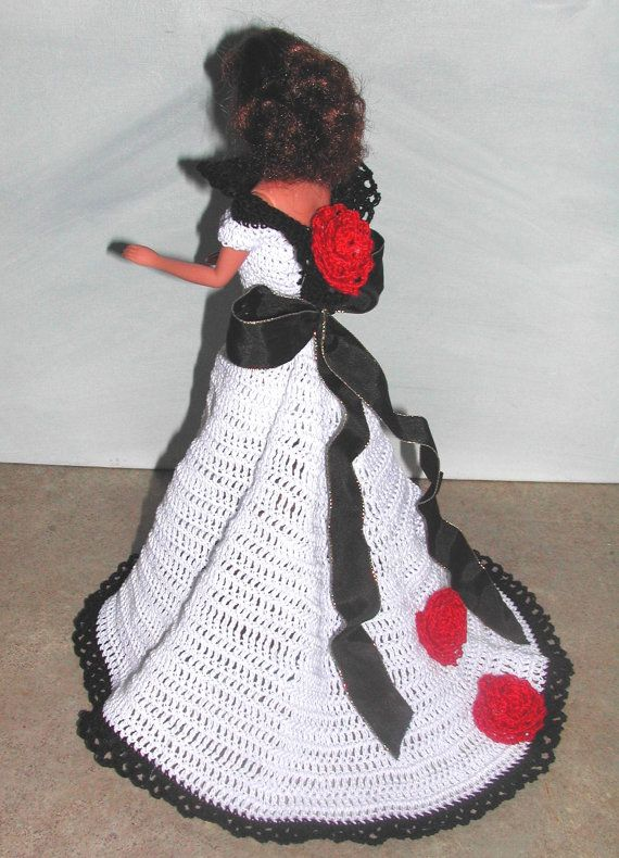 Crochet Fashion Doll Barbie Pattern- #570 EXCLUSIVELY PARISIAN #3 ...
