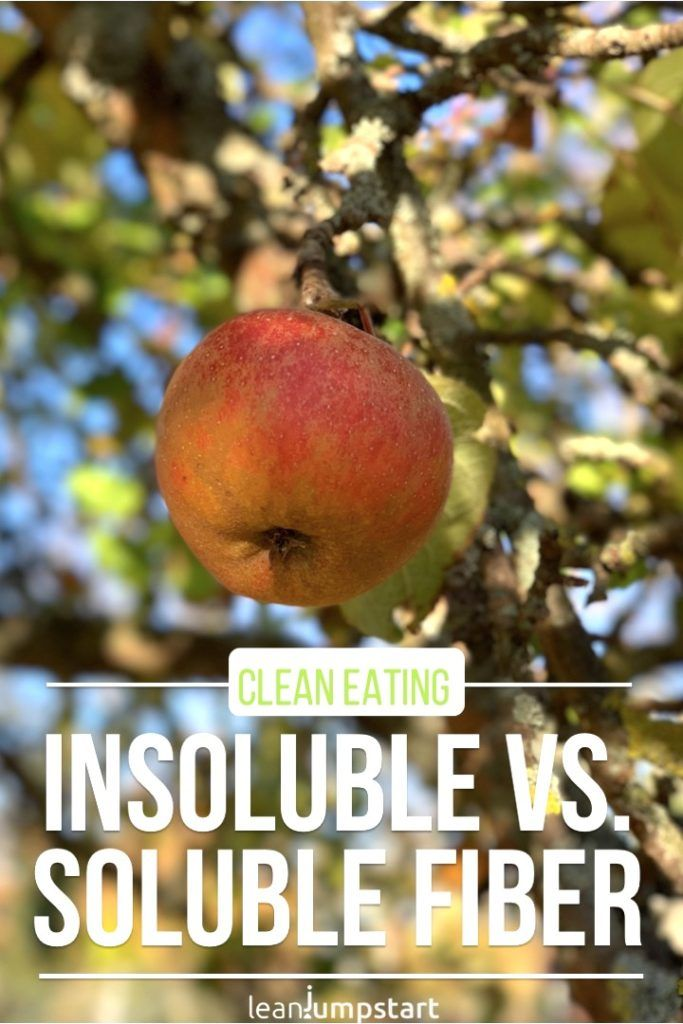 25. what is the difference between soluble and insoluble fiber