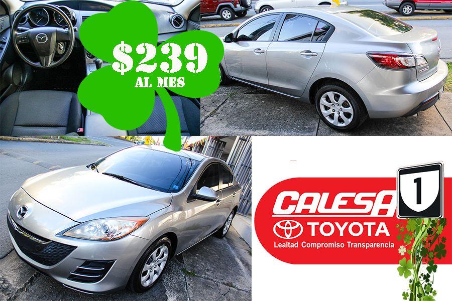 ¡¡¡ #Mazda3 2010 !!! Llévatelo, como NUEVO, desde $239 al mes. Más detalles: (939)630-7022 / (787)653-9300 www.calesatoyota.com