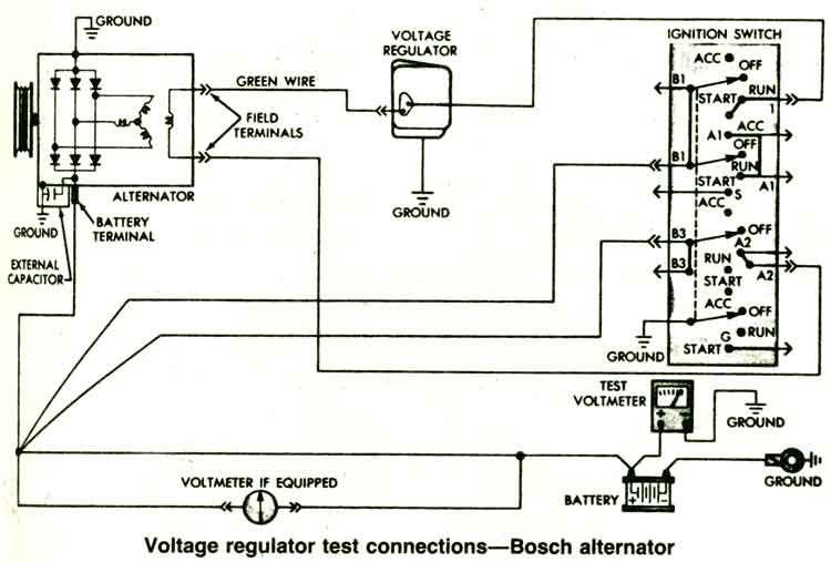 resultado de imagem para circuito alternador dfm t
