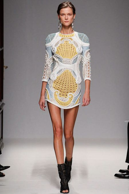 Balmain - spring 2013 rtw collection Paris <3