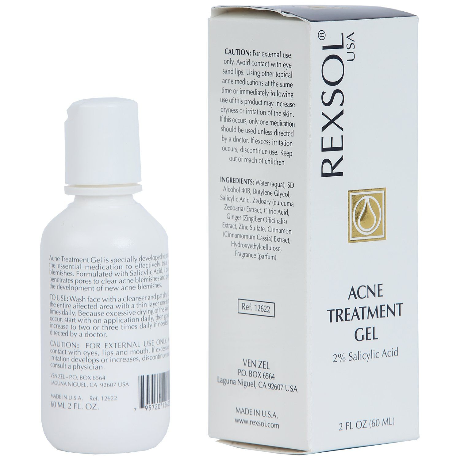 Acne Treatment --- REXSOL Acne Treatment Gel Salicylic Acid Gel 60 ml / 2  fl oz *** Find out more testimonials of the product by checking out the web  link ...