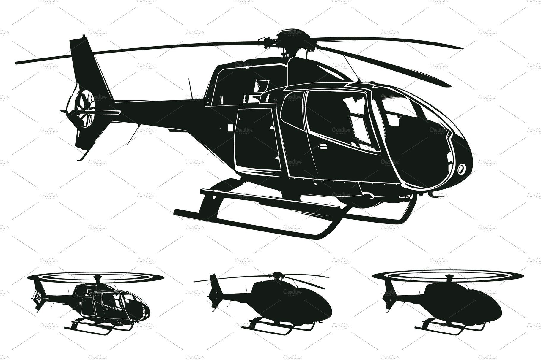 vector helicopter silhouettes silhouette vector vector vector background vector helicopter silhouettes