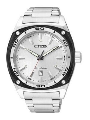 citizen eco-drive wr 100m mens watch bm6687-53f new
