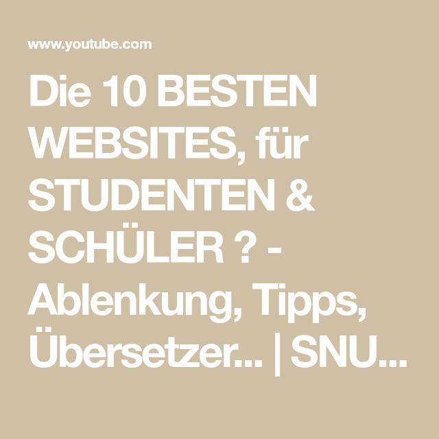 Zehn besten Websites