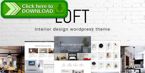 Free nulled Loft Interior Design WordPress Theme download Cosy