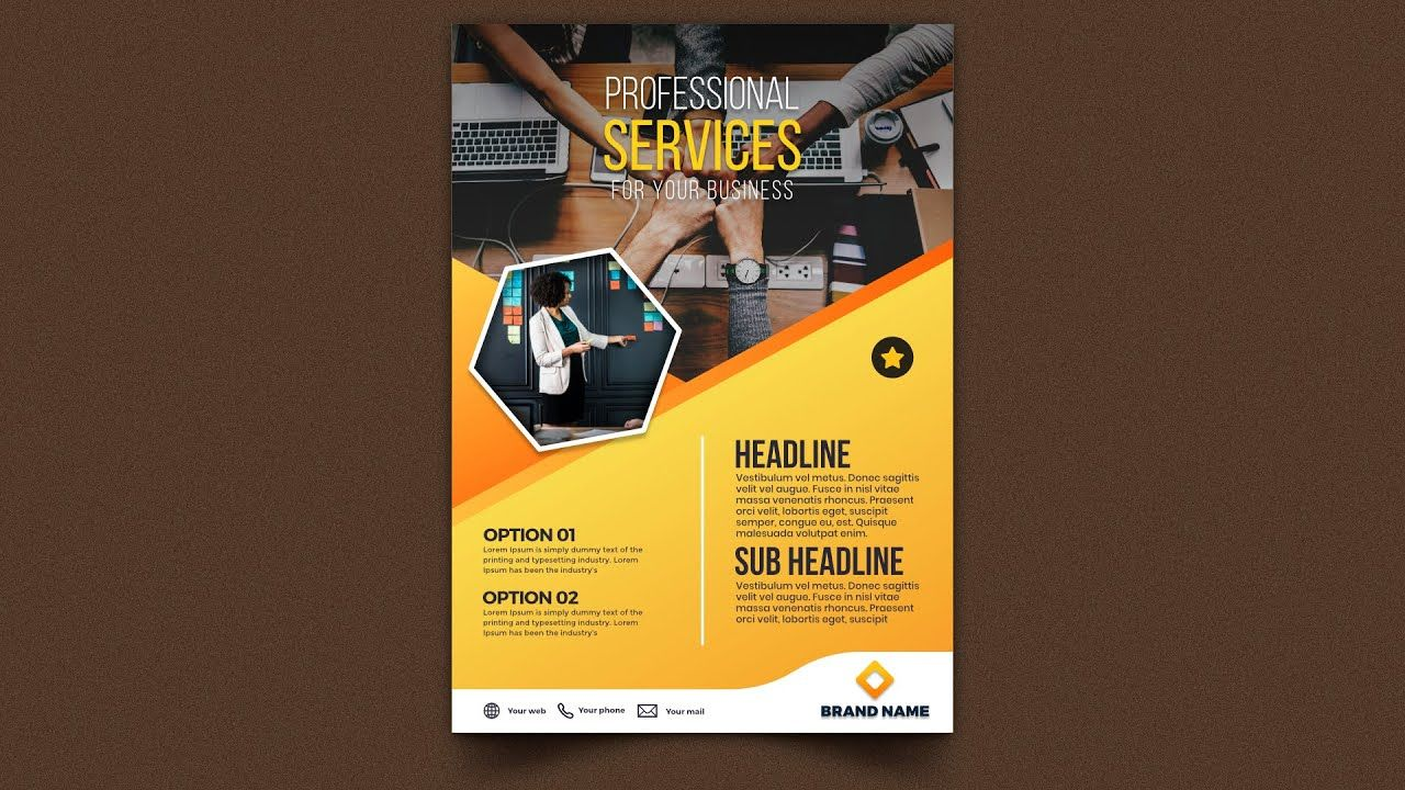 Professional Business Flyer Design Affinity Publisher Tutorial Business Flyer Flyer Design Flyer