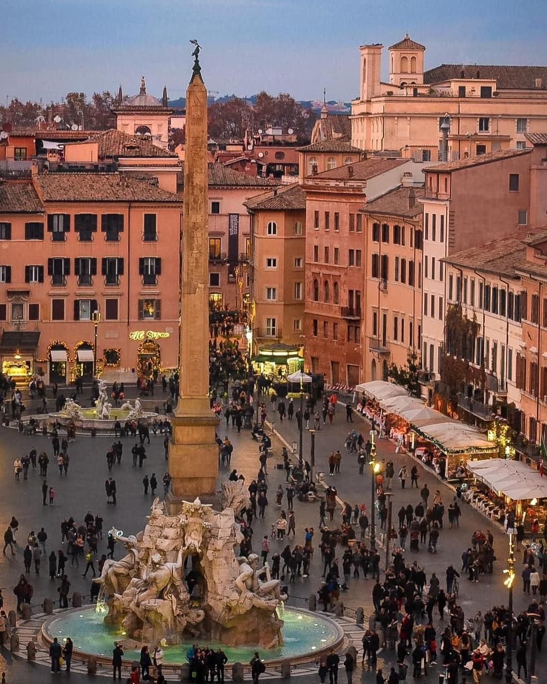 Rome Eternal City On Instagram Beautiful Piazza Navona Ale Bald Tag Inrhome In Your Italy Tourism Cool Places To Visit Italy Vacation