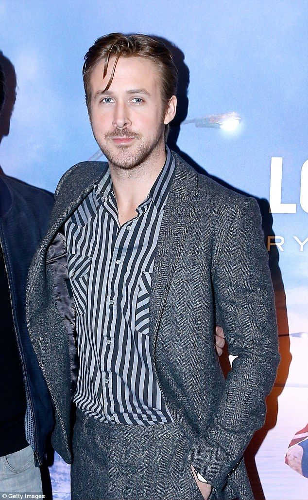 Ryan Gosling cuts a suave figure in tweed suit at Lost River ...