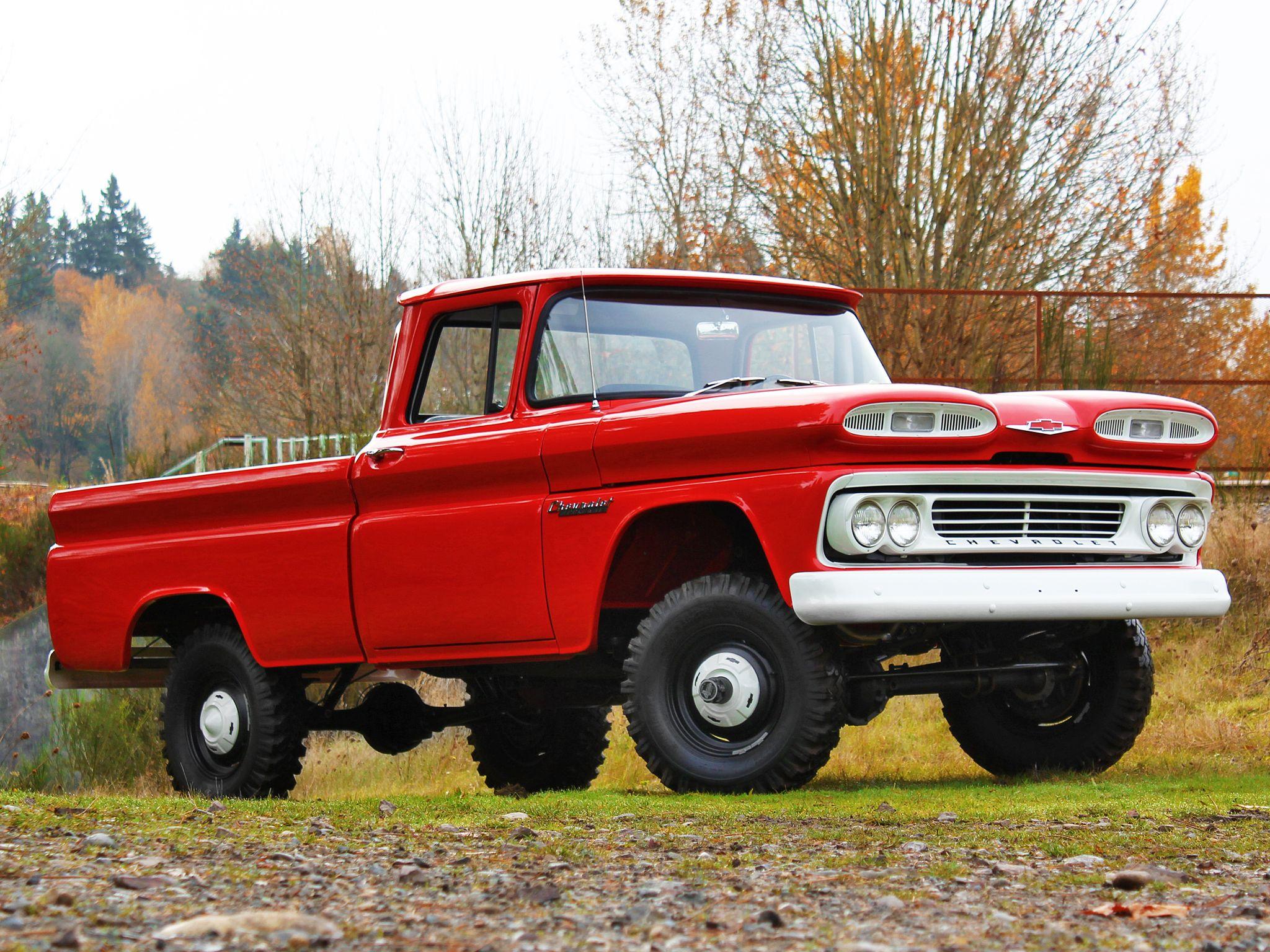 1960 Chevrolet Apache 10 Fleetside Pickup Chevy Trucks Gmc Trucks Trucks