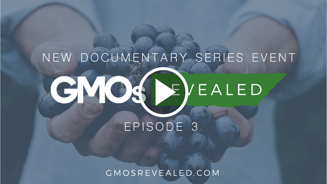 """GMOs Revealed: Ep 3. Just wait until you see tonight's episode. You'll hear more from Jeffrey Smith, whose documentary """"Genetic Roulette the Gamble of Our ..."""