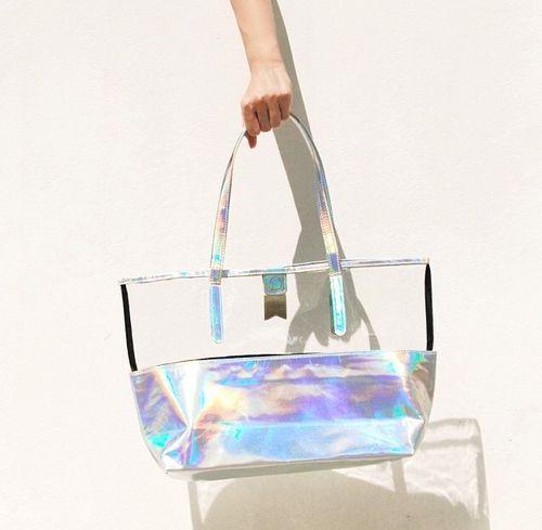 6e6a0c9416b0 Clear PVC Holographic bag. Clear PVC Holographic bag Holographic Bag