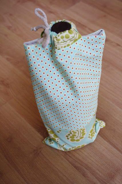 Kimminita: How to make a wine gift bag