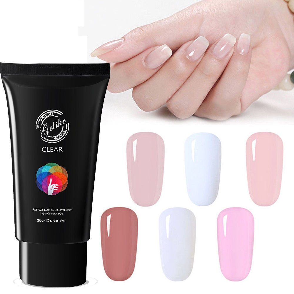 Gel Nail Polish Colors Poly Manicure Kit Uv Light Cured Magnetic Acrylic Primer Gel Nail Polish Colors Nail Polish Glitter Gel Nails