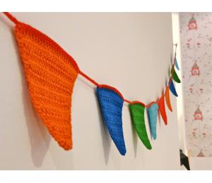Guirnalda crochet Cumpleaños