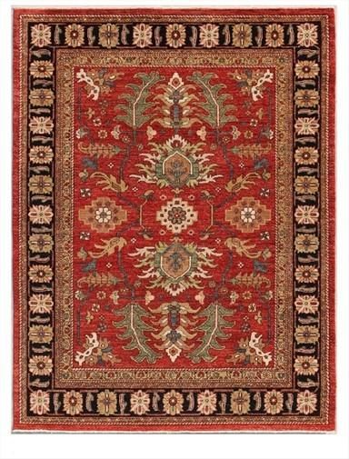 New Stan Hand Woven Antique Reproduction Of A 19th Century Persian Rug Curator