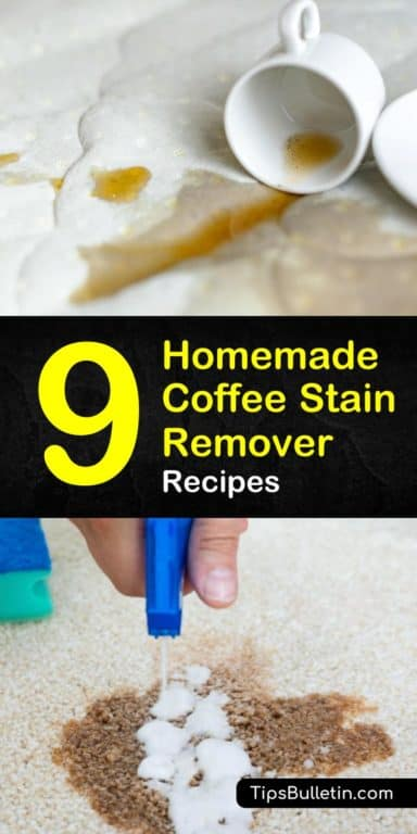 9 Easy-to-Make DIY Coffee Stain Remover Recipes