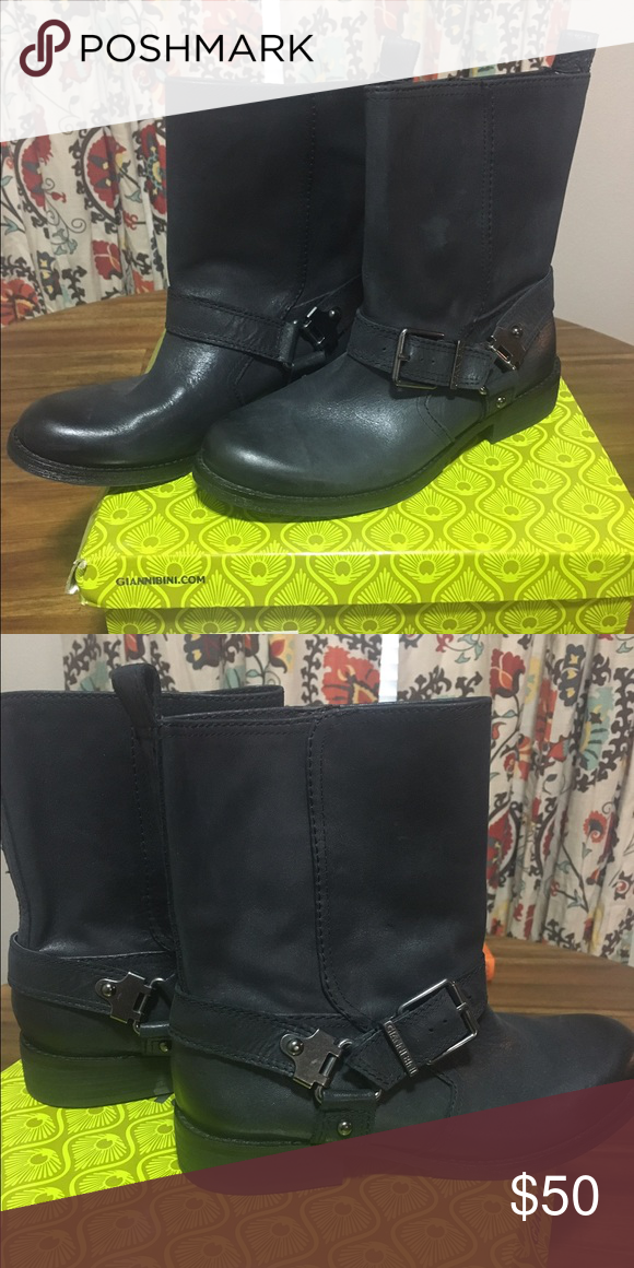Gianni Bini Boots Gianni Bini Motorcycle Boots, perfect for any edgy styled outfit, or just casual wear with leggings! Brand new, Never worn! Price Firm. Gianni Bini Shoes Combat & Moto Boots