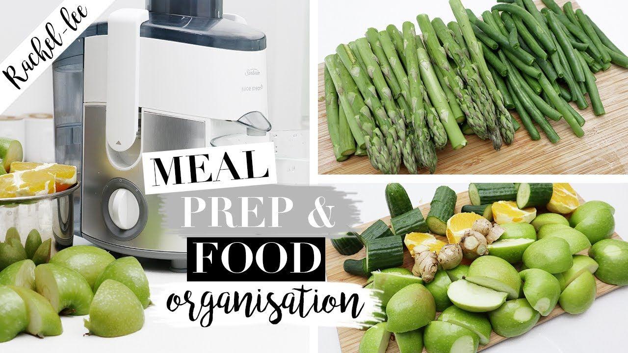 Organizing My Food & Meal Prep