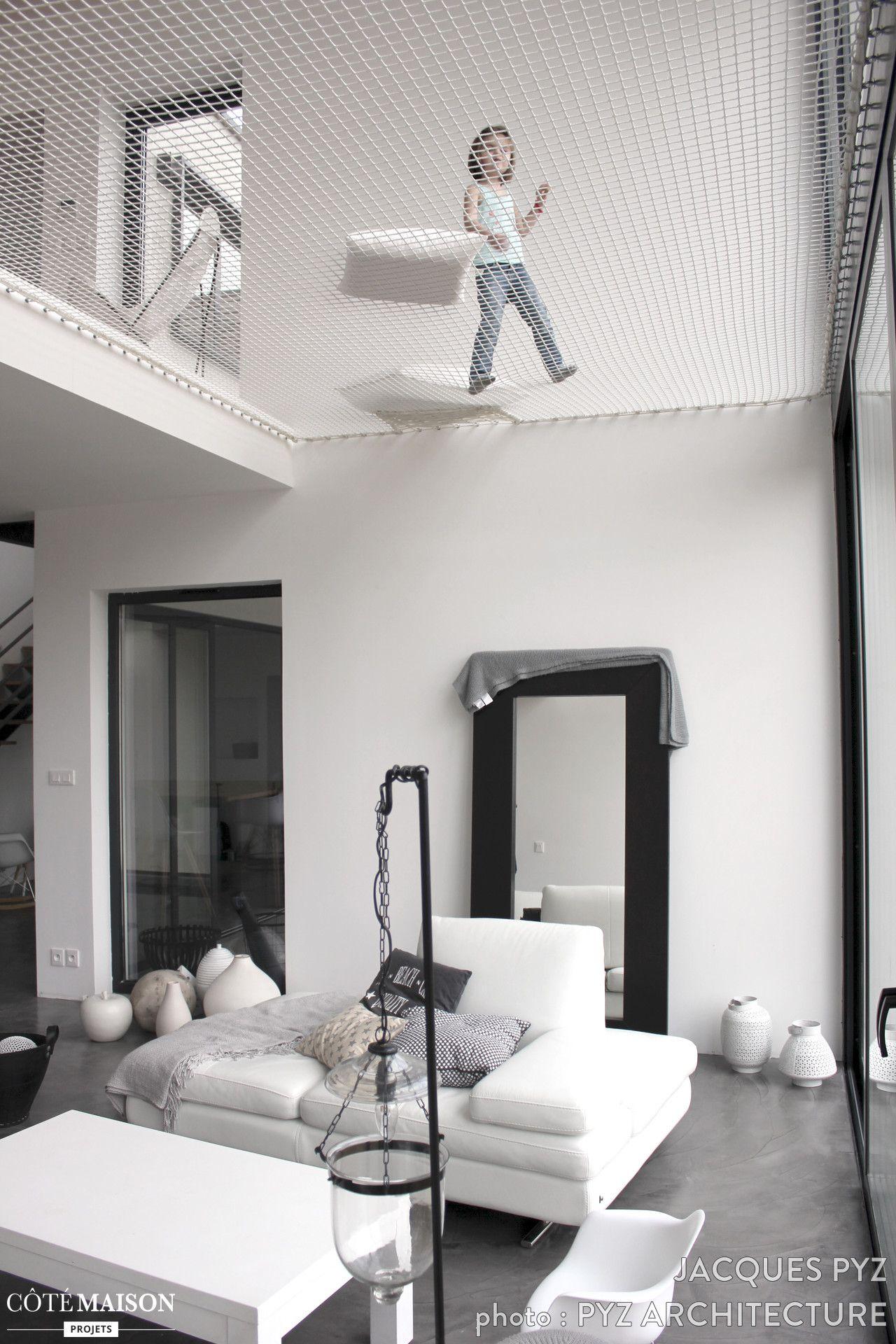Le filet pour buller au dessus du salon le rêve