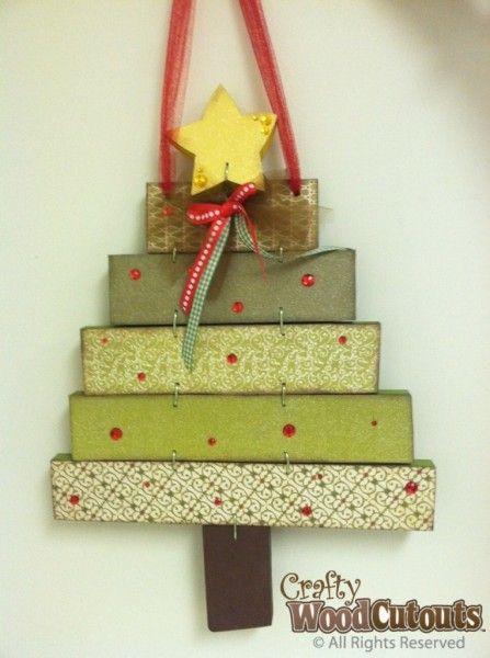 Hanging Christmas Tree. Hanging Christmas TreeChristmas Wood CraftsChristmas  ...