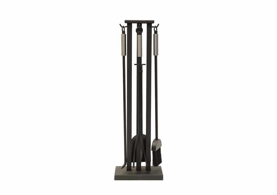 The Cheviot Fire Tool Set - Black