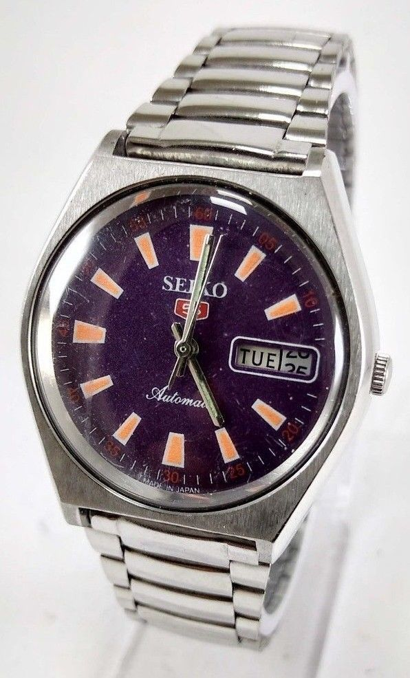 vintage seiko 5 automatic 21j movement no 6319a made men s vintage seiko 5 automatic 21j movement no 6319a made men s watch