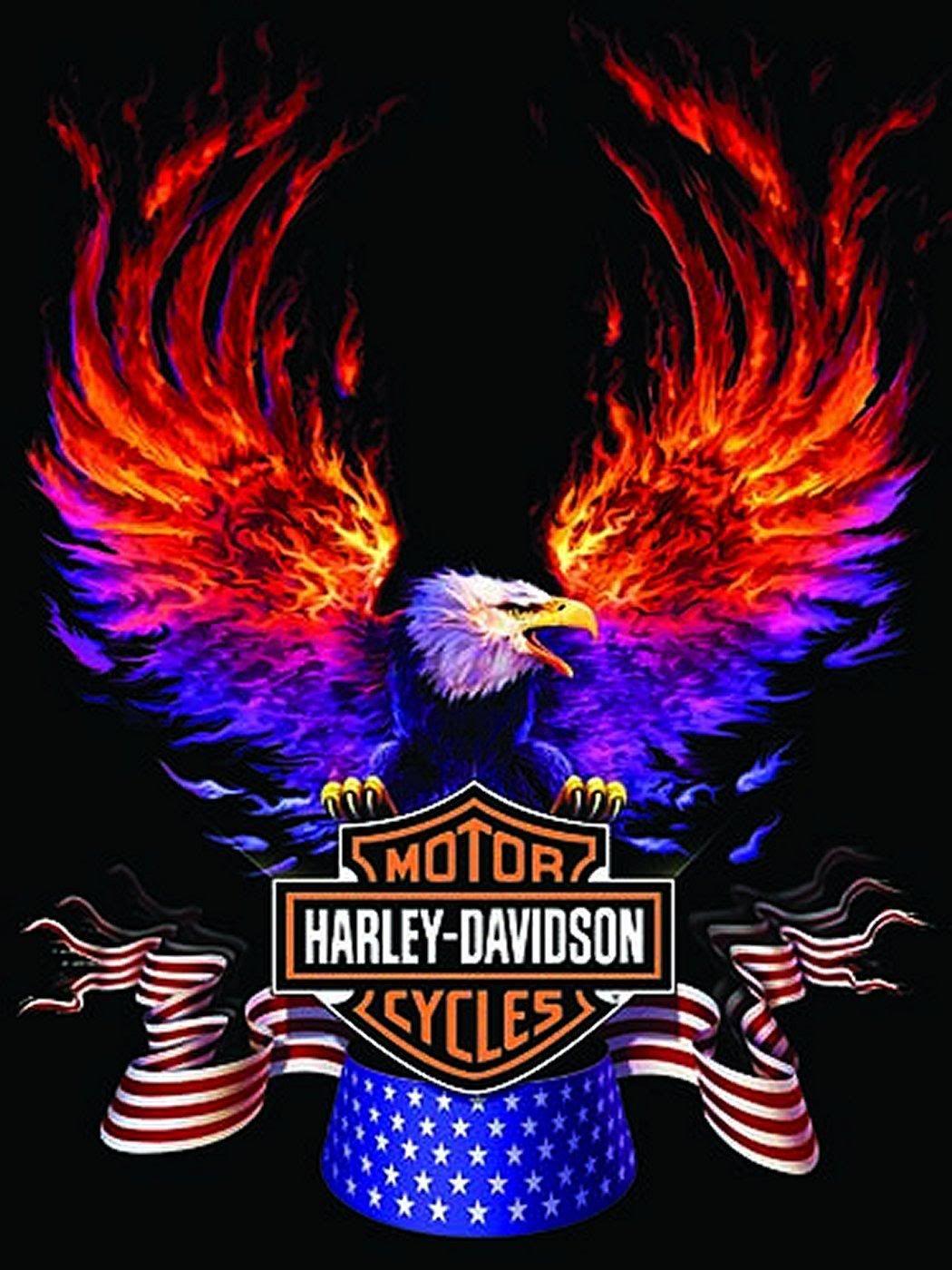 Harley Davidson Logo Wallpapers | Bikes | Old harley