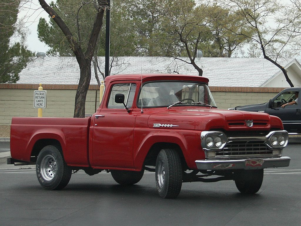 1960 Ford Pickup Trucks With Images Ford Pickup Ford Pickup
