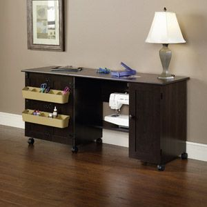 Sauder Sewing And Craft Table Multiple Finishes Walmart Com