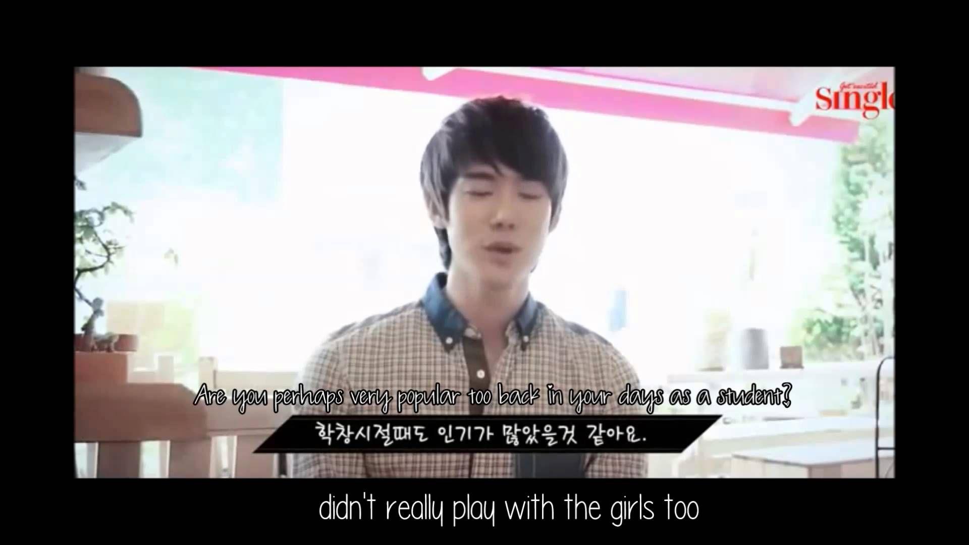 "[Yeoniverse] 201306 Yoo Yeon Seok ""Singles"" Interview Eng Sub"